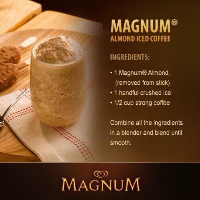 Magnum Almond Ice Coffee