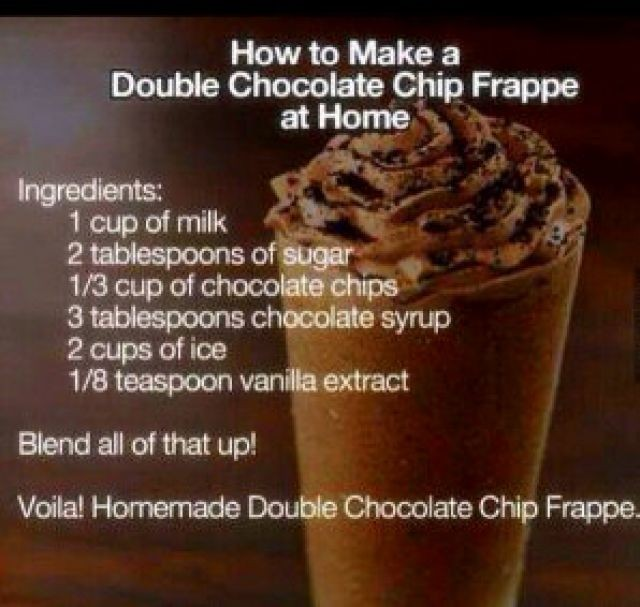 Double Choc Chip Frappe