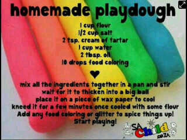 Home Made Play Dough