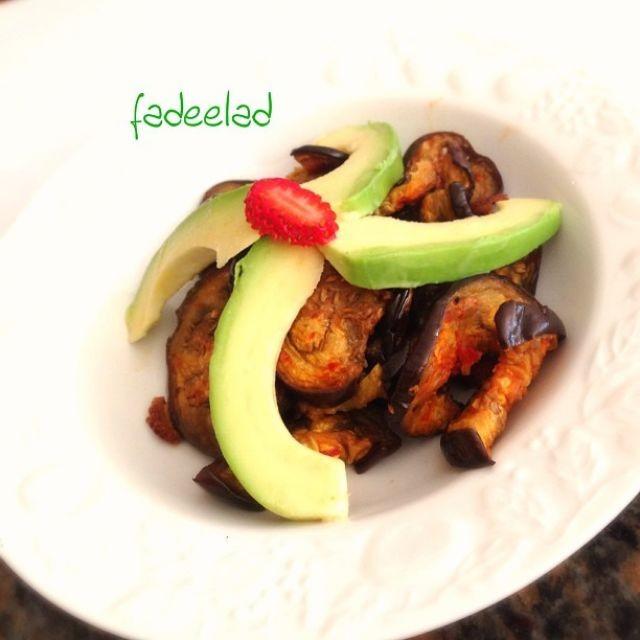 Brinjal And Avo Salad