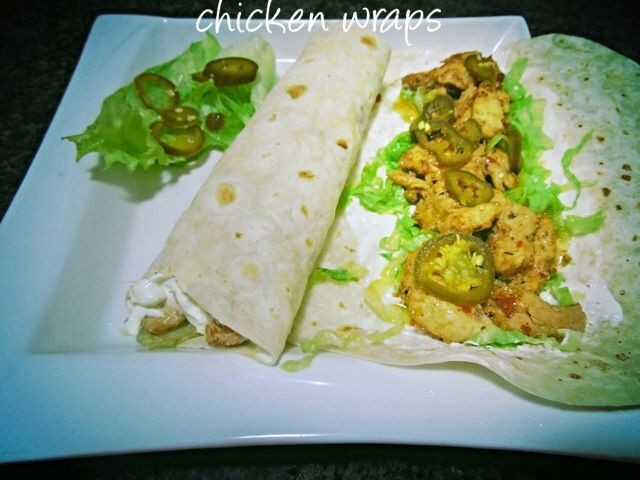 Chicken Wraps By Mrs Admin