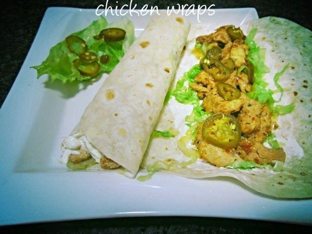 Chicken Wraps By Mrs Admin