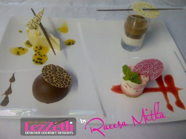 Passionfruit And Raspberry Mousse