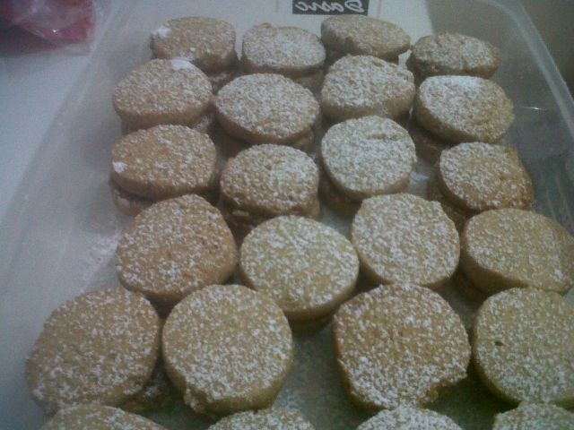Coffee Cream Biscuits