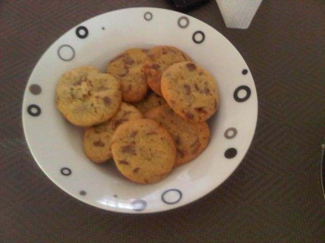 Choc Chip Cookies American Style
