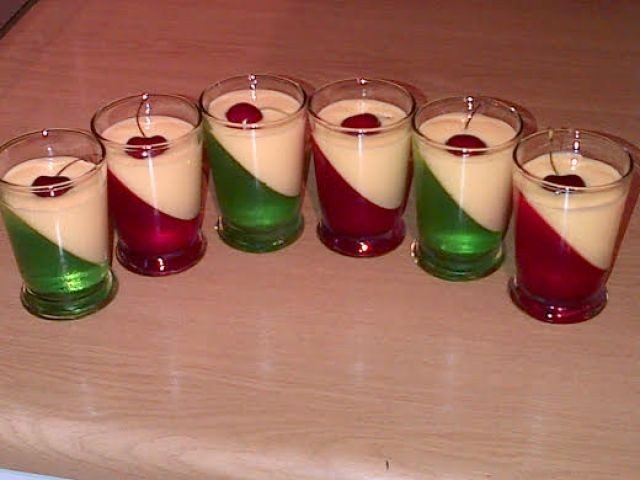 Simple Jelly & Custard