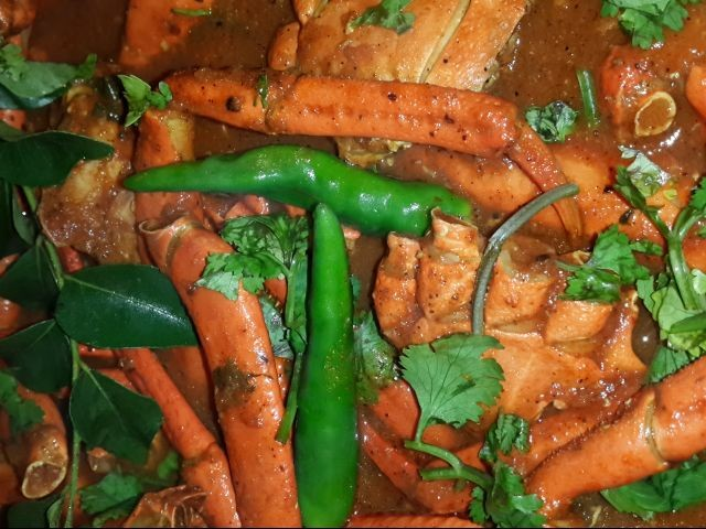Spicy Crab Curry