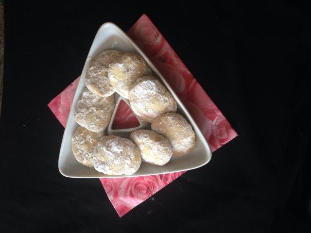 Pecan Nut Biscuits