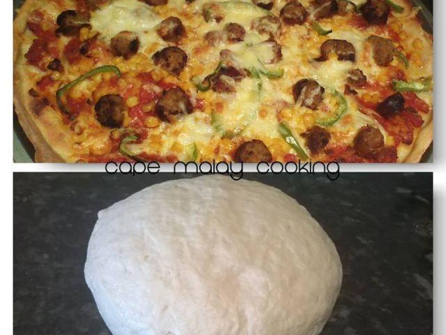 Easy Peasy Pizza Dough