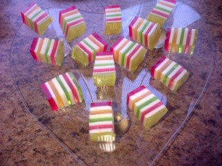 Rainbow Jelly Fingers