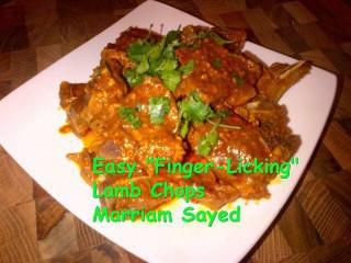Easy 'finger-licking' Lamb Chops/ribs