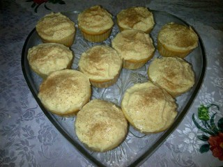 Milktart Cakes