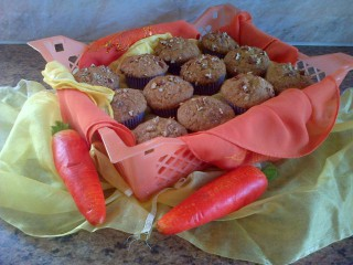 Banana & Carrot Muffins