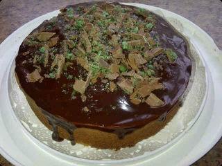 Peppermint Delight Cake