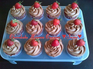 Chocolate Mousse Cuppies