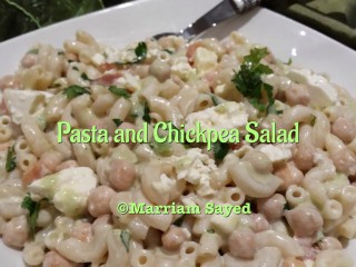 Chickpea And Pasta Salad