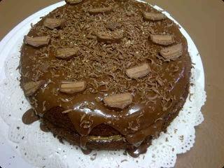 Bar One Cake