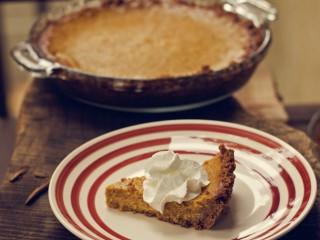 Pumpkin Pie With A Graham Cracker Crust!