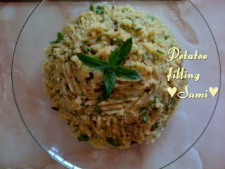 Potatoe Filling For Parathas,samoosa,pies,pizza Etc
