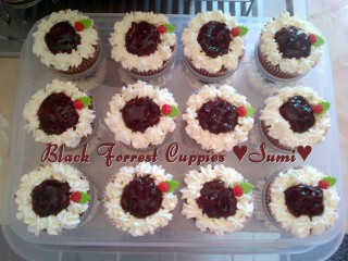 Black Forrest Cuppies