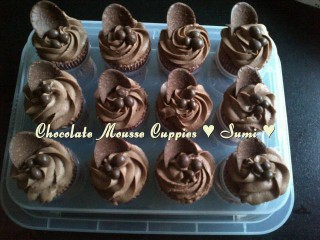 Chocolate Mousse Cup Cakes