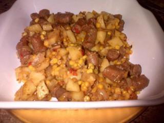 Sausage Corn Mix