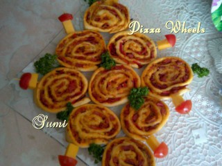 Great Lunch Idea. Pizza Wheels