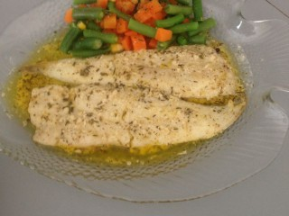 Lemon Butter Fish My Style
