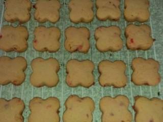Coconut & Cherry Biscuits