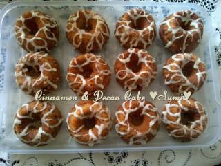 Cinnomon And Pecan Cake