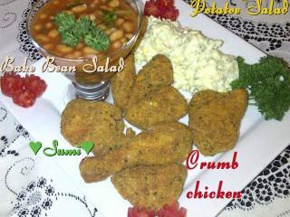 Crumbed Chicken