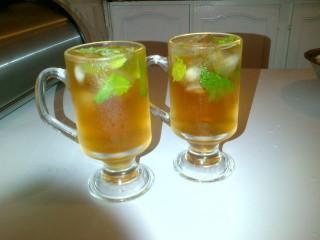 Lemon & Mint Iced Tea