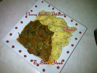 Steak & Cheesy Potatoes