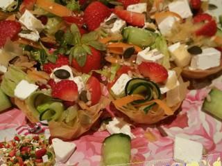 Phyllo Salad