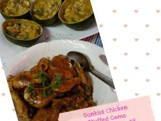 Sunkist Chicken And Stuffed Gems