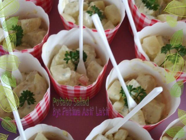 Mini Potato Salads