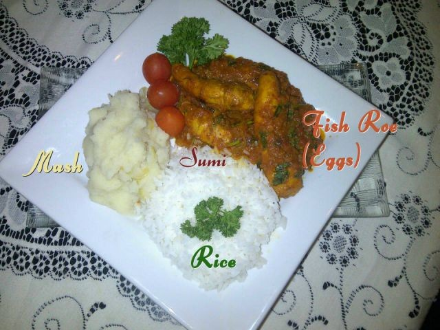Fish Roe \ Eggs Chutney
