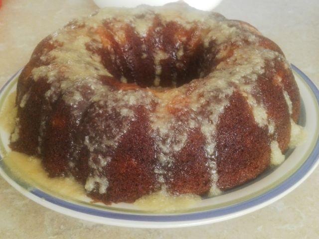 Peach Slice Cake...