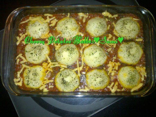 Cheesy Potatoe Balls