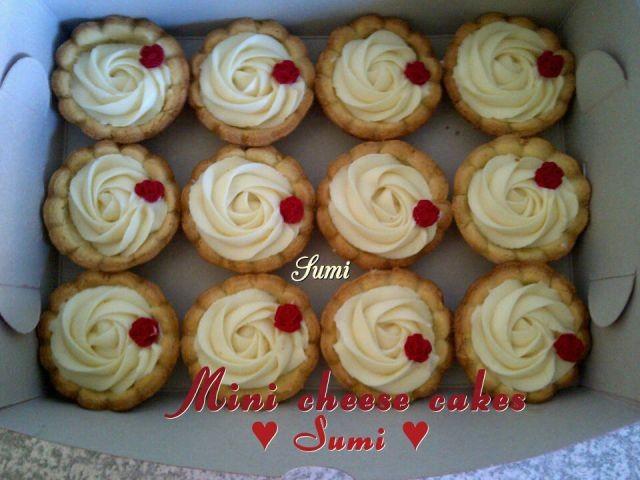 Mini Cheese Cakes Sumi's Style