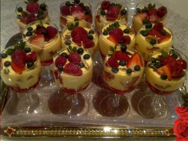 Sensational Strawberry Trifle