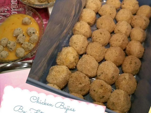 Chicken Bajias