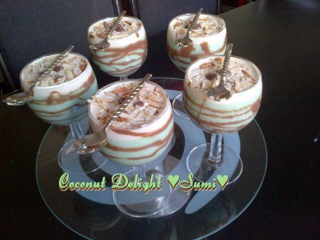 Coconut Delight Dessert