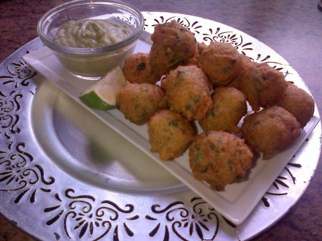 Chicken Bhajia