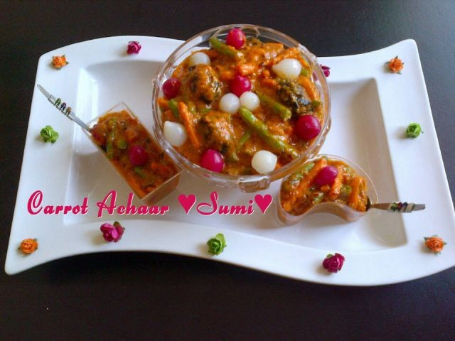 Carrot Achaar