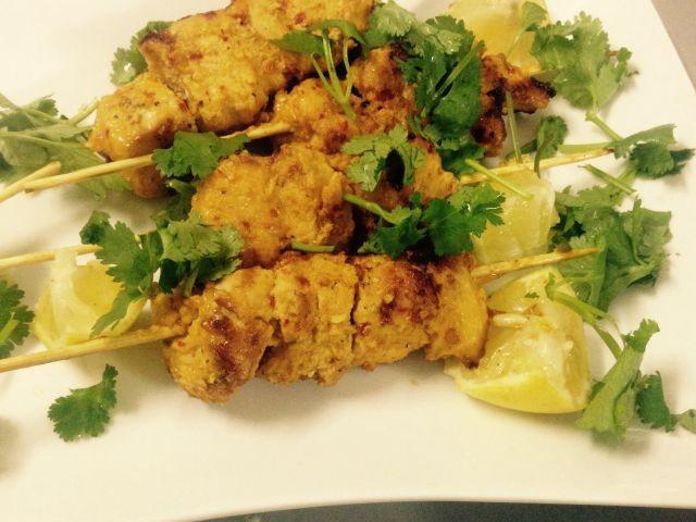 Lemon Peri Chicken Skewers | My Recipe