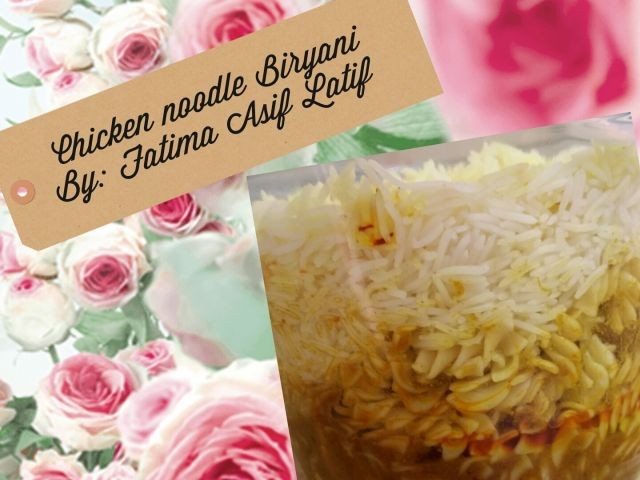 Chicken Noodle Biryani