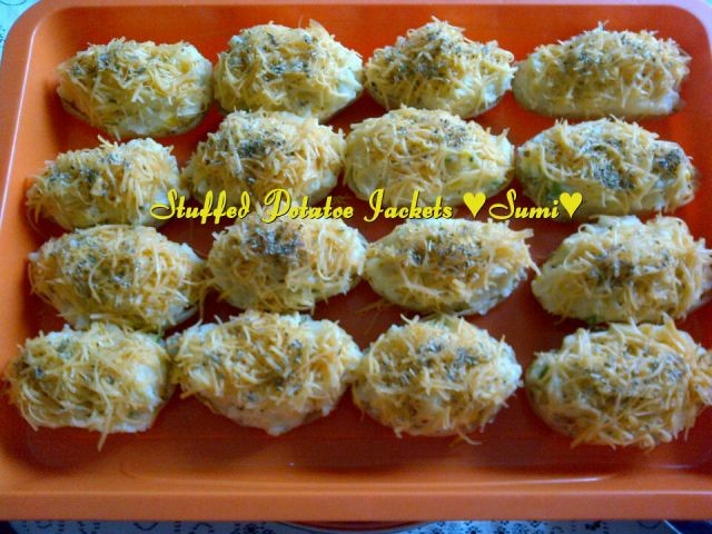 Stuffed Jacket Potatoes