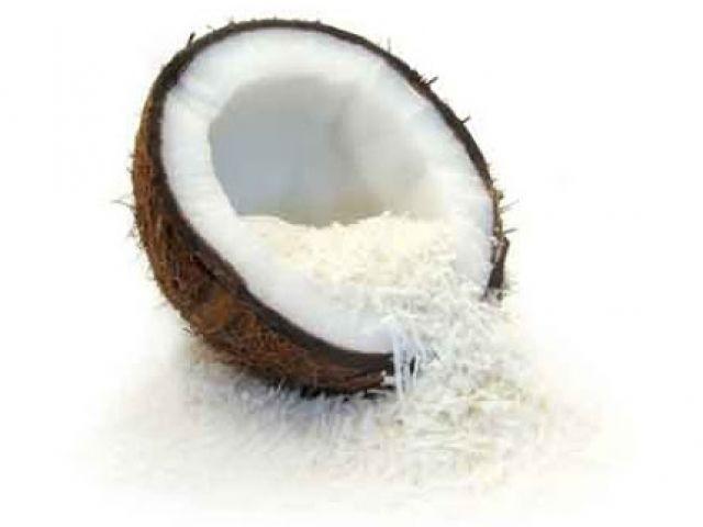 Fresh Coconut Dessert