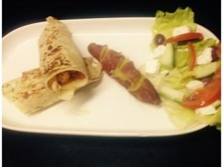 Mediterranean Chicken Wraps | My Recipe